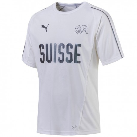 Switzerland white training shirt 2018/19 - Puma