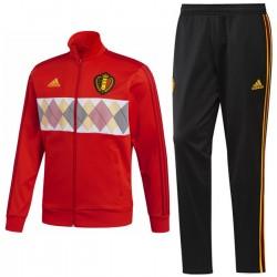 Tuta da rappresentanza Track Casual nazionale Belgio 2018/19 - Adidas