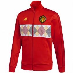 Belgien Track Casual fußball präsentationsjacke 2018/19 - Adidas