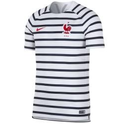 Frankreich Fussball pre-match trainingstrikot WM 2018/19 - Nike
