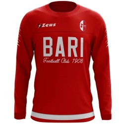 Bari FC football red training sweatshirt 2017/18 - Zeus