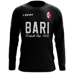 Felpa allenamento nera calcio Bari FC 2017/18 - Zeus
