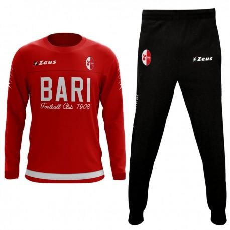 Survêtement d entrainement Bari FC 2017 18 - Zeus - SportingPlus.net 617409b137d9