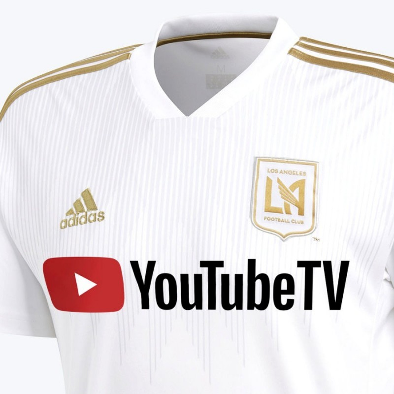 new styles c4137 ec1c6 ... Los Angeles FC Authentic Away football shirt 2018 - Adidas ...