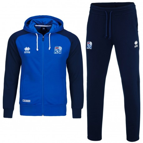 Iceland World Cup hooded presentation tracksuit 2018 19 - Errea ... 8634d5ce5