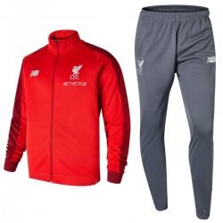 Liverpool FC training präsentationsanzug 2018/19 rot/grau - New Balance