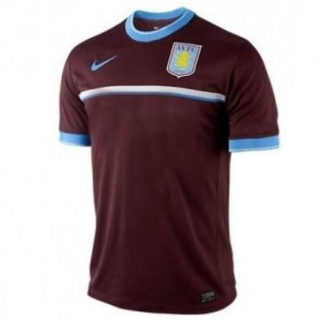 Jersey por Nike Aston Villa FC 11/12 antes de la carrera de formación