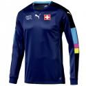 Switzerland goalkeeper football shirt 2016/17 navy - Puma