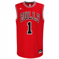 Camiseta baloncesto Chicago Bulls Rose 1 - Adidas