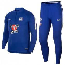 Survetement Tech d'entrainement Chelsea FC 2018/19 bleu - Nike