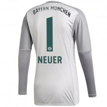 431629544 Bayern Munich Neuer 1 Home goalkeeper shirt 2018 19 - Adidas ...