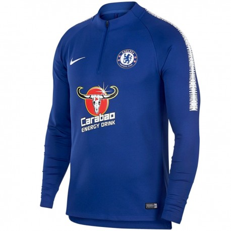Chelsea FC training technical sweatshirt 2018/19 blue - Nike