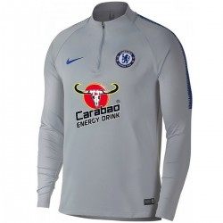Chelsea FC grey training technical sweatshirt 2018/19 - Nike