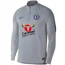 Felpa tecnica allenamento grigia Chelsea FC 2018/19 - Nike
