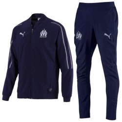 Survêtement de presentation Olympique Marseille 2018/19 bleu navy - Puma