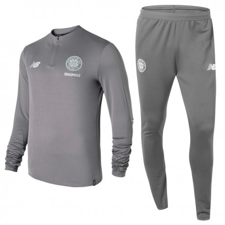 Celtic Glasgow grey training tech tracksuit 2018/19 - New Balance