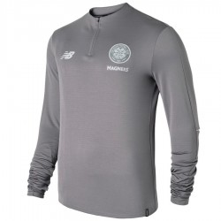 Tech sweat top d'entrainement Celtic Glasgow 2018/19 gris - New Balance