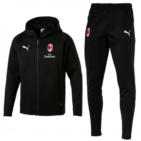 AC Milan casual presentation sweat tracksuit 2018/19 - Puma