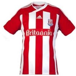 Stoke City Home Trikot 2010/2012-Adidas