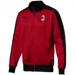 Giacca da rappresentanza rossa T7 AC Milan 2018/19 - Puma