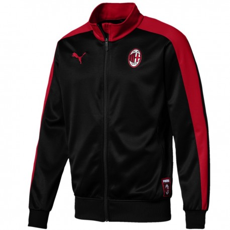 AC Milan T7 black presentation jacket 2018/19 - Puma