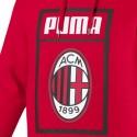AC Milan red Fans presentation hoodie 2018/19 - Puma