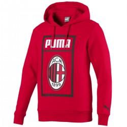 Sudadera presentación roja AC Milan Fans 2018/19 - Puma