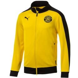 Chaqueta de presentación amarilla T7 Borussia Dortmund 2018/19 - Puma