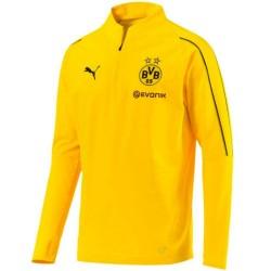 Tech sweat top d'entrainement BVB Borussia Dortmund 2018/19 - Puma