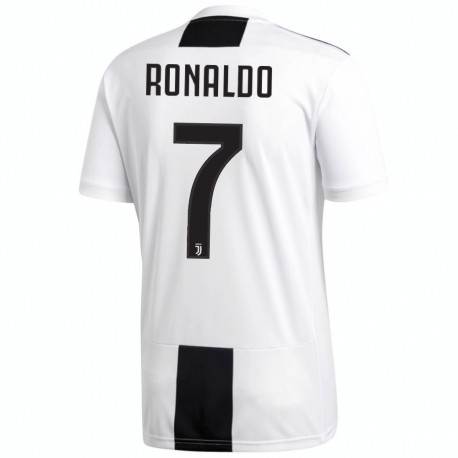 Ronaldo 7 Juventus FC Home football shirt 2018/19 - Adidas