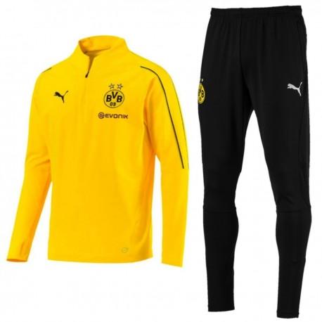 Survêtement Tech d'entrainement BVB Borussia Dortmund 2018/19 - Puma