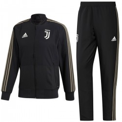 Tuta da rappresentanza nera Juventus 2018/19 - Adidas