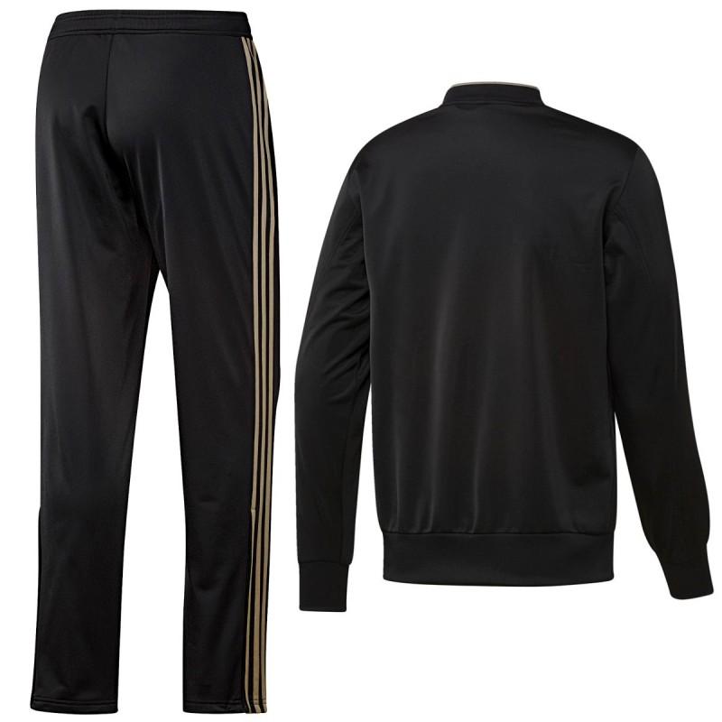 3db9a7b2f ... Juventus black bench training tracksuit 2018 19 - Adidas ...