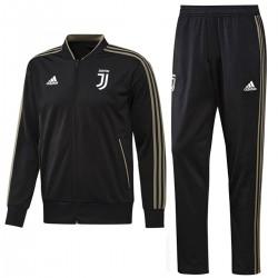 Tuta da allenamento nera Juventus 2018/19 - Adidas