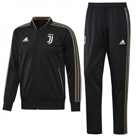 Juventus black bench training tracksuit 2018/19 - Adidas
