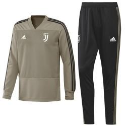 Survetement d'entrainement sweat Juventus 2018/19 - Adidas