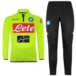 SSC Napoli fluo training technical tracksuit 2018/19 - Kappa
