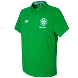 Polo da rappresentanza Celtic Glasgow 2017/18 - New Balance