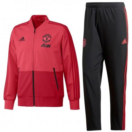 Survetement de presentation Manchester United 2018/19 - Adidas