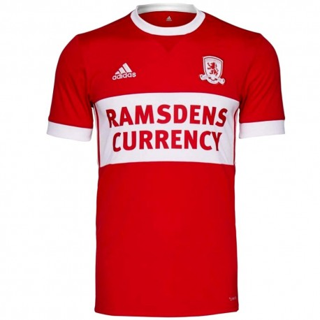 Middlesbrough FC Home football shirt 2017/18 - Adidas