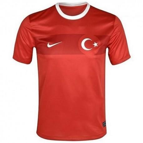 Chemise de Turquie national Accueil Nike 2012/13