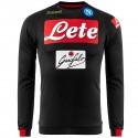 SSC Napoli black training sweatshirt 2018/19 - Kappa