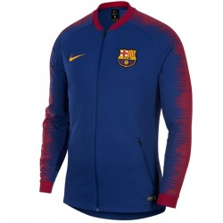 FC Barcelona Anthem presentation jacket 2018/19 blue - Nike