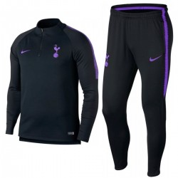 Tottenham Hotspur black training technical tracksuit 2018/19 - Nike