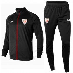 Athletic Club Bilbao black presentation tracksuit 2018/19 - New Balance