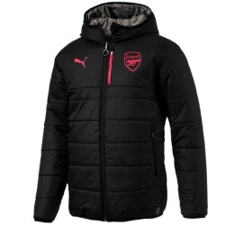 Veste reversible d'entrainement Arsenal 2017/18 noir - Puma