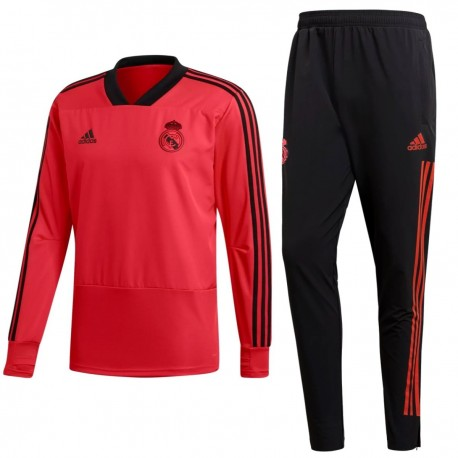 Real Madrid UCL training sweat tracksuit 2018/19 - Adidas