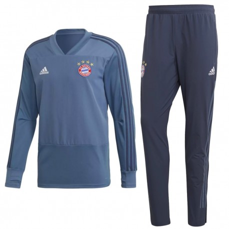 999940bb2aa8 Bayern Munich UCL training sweat tracksuit 2018 19 - Adidas