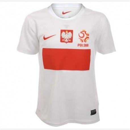 Polonia National Soccer Jersey casa 2012/2013 por Nike