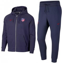 Atletico Madrid casual presentation hooded sweat tracksuit 2018/19 - Nike